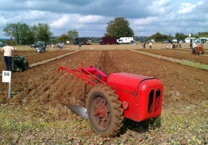 A little bit of ploughing can be great fun at any event or at the club working weekend.