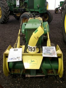 John deere 110 with Snow Blower UK