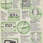 Ransomes Golf Accessories Vintage Advert