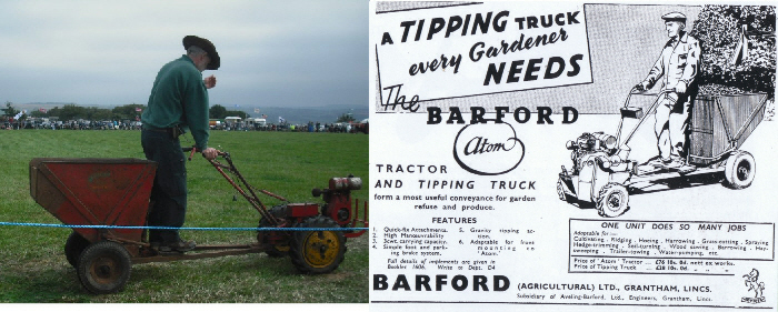 BArford Atom Tipping Truck and Advert