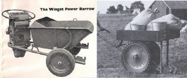 Winget Power Barrow and Allen Scythe Load Carrier