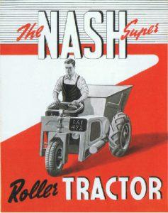 Nash Roller Tractor