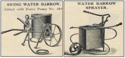 Vintage Swing Water Barrow Sprayers