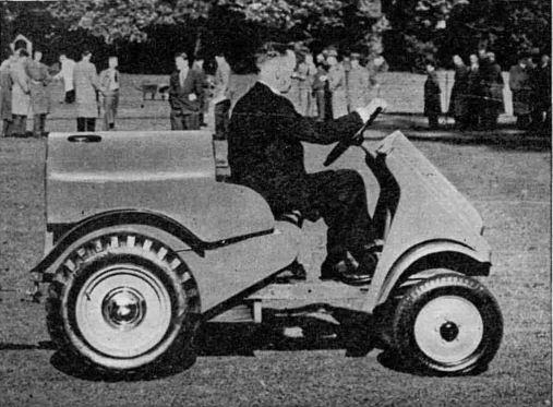 Garner tractor 1954