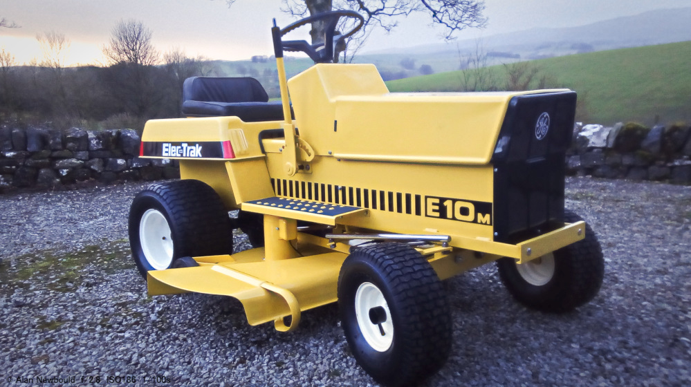 Topic: That Elec-Trak | Vintage Horticultural and Garden Machinery Club