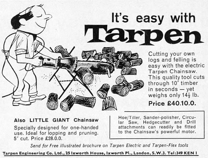 Little Giant Chainsaw by Tarpen 1963