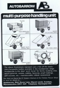 AutoBarrow 1974 Vintage Advert