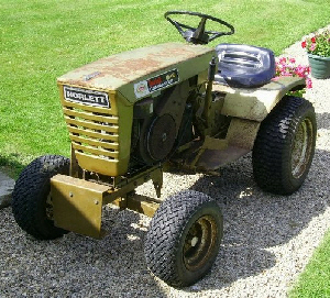 Norlett 8hp Tractor