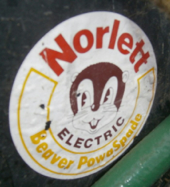Norlett Electric Beaver Powaspade logo