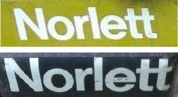 Norlett's modern logo