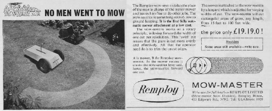 Remploy Mow-Master