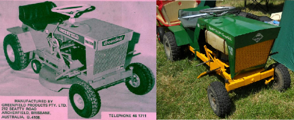 Bartrop/Greenfield Ride-on-mowers