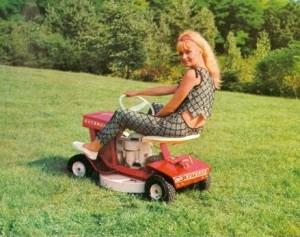 Gutbrod mini ride-on-mower