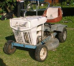 Landmaster Ride-on-mower