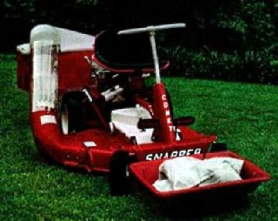 Snapper Comet Load Carrier